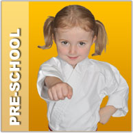 Karate for pre-school children