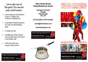 Birthday Party flyer logo