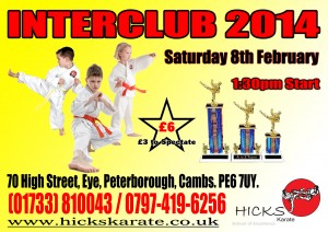 Interclub No 1 - 8th February 2014 - Hicks