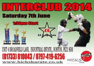 Interclub No 4 - 7th June 2014 - Hicks