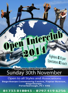 Open Interclub 30th December 2014