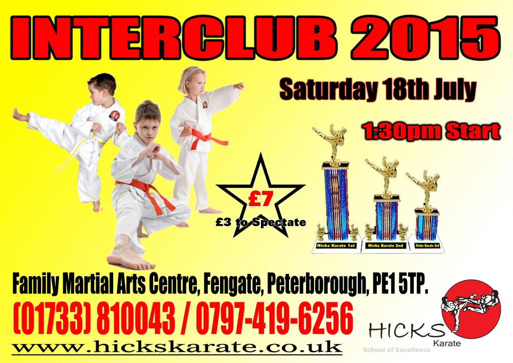 Interclub No 1 - 18th July 2015