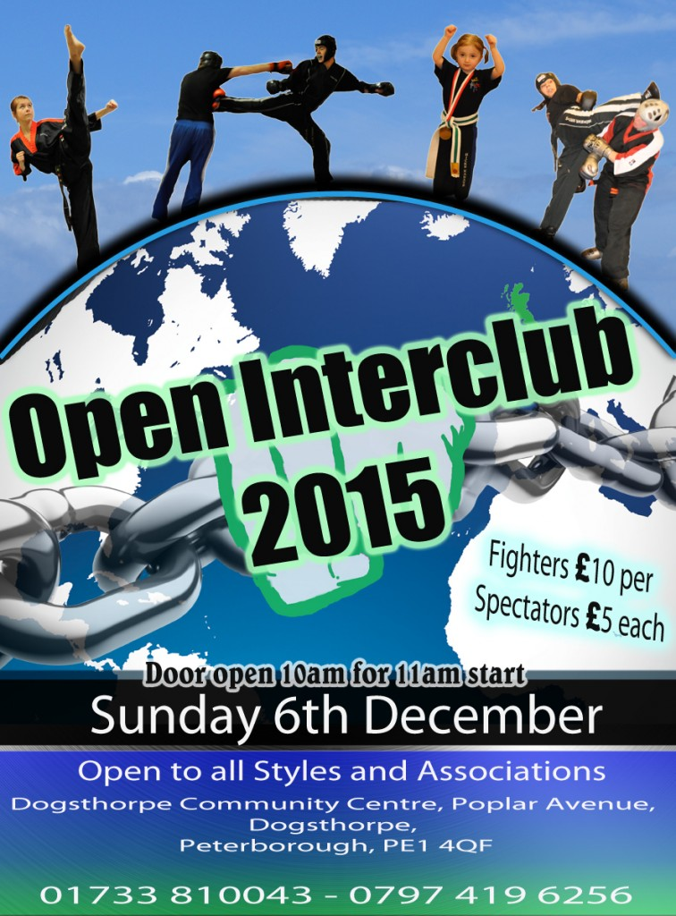 Open Interclub 6th December 2015