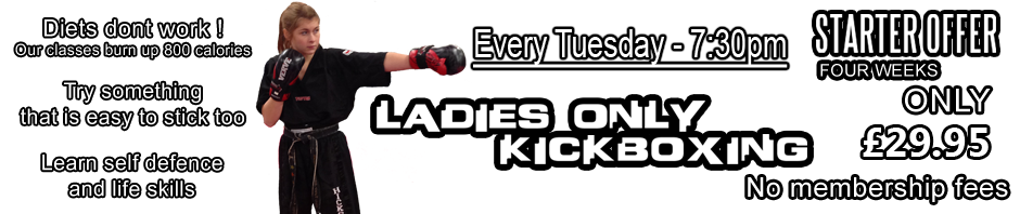 Ladies Kickboxing in Peterborough