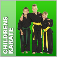 Childrens karate and kickboxing classes
